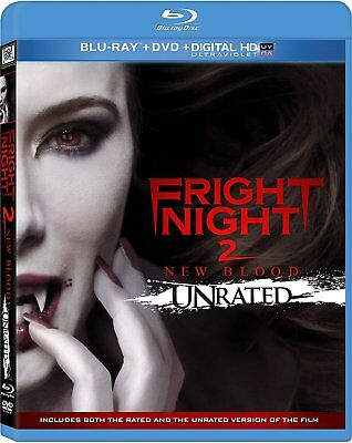Fright Night 2: New Blood Blu-ray/DVD UNRATED *Digital Code may be expired - NEW