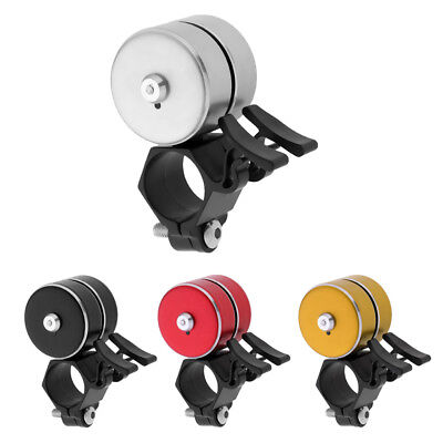 Creative Cycling Bicycle Handlebar Ring Bell with Double Click and 3 Tones