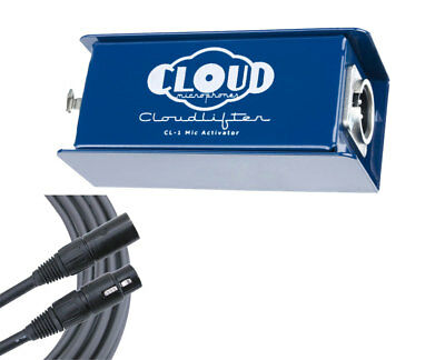 Cloud Cloudlifter CL-1 In-Line Microphone Preamplifier + Mogami XLR Cable