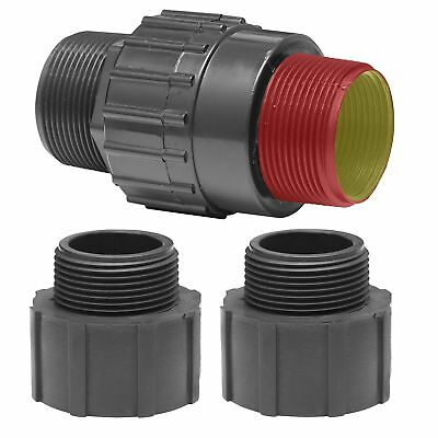 Superior Pump 99555 Universal Check Valve Plastic Fits all 1-1/4-Inch or 1-1/...