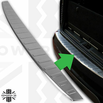 Stainless steel rear bumper step cover for Land Rover Discovery 5 tread plate