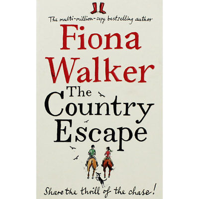 The Country Escape by Fiona Walker (Paperback), Valentines, Brand New