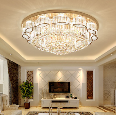 Crystal Chandelier Ceiling Light Pendant Lamp  Lighting Luxury Fixtures LED K9