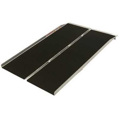 PVI Aluminium Single Fold Threshold Ramp, 360kg Capacity
