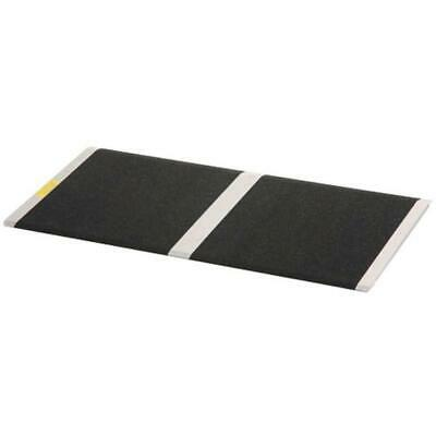 PVI Aluminium Solid Threshold Ramp, 270kg Capacity
