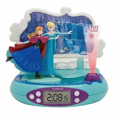Disney Frozen Radio Alarm Clock Projector With Night Light Lexibook Kids