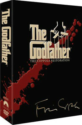 The Godfather Trilogy DVD Restored NEW