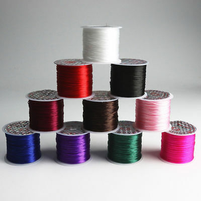 50M Stretchy Elastic Crystal String Cord Thread For Jewelry Making Bracelet