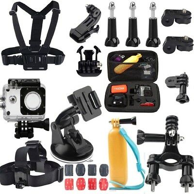 Accessories set for Gopro hero 7 6 5 Session SJ4000 SJCAM 4 /Xiaomi yi Kit Mount