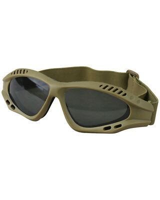 Kombat Spec-Ops Glasses For Airsoft Shooting Smoke Lens Strong Goggles Outdoors