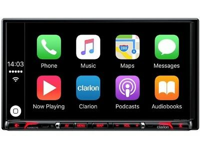 "Clarion NX807E 2 DIN Navigation Apple Car Play Bluetooth USB 7"" / 17,85cm Touch"