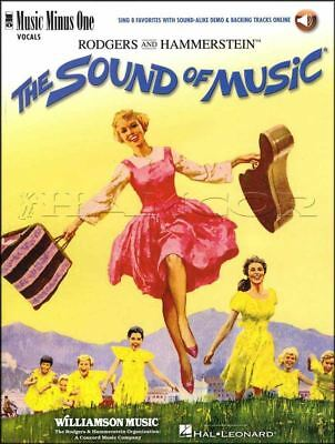The Sound Of Music Vocals Voice Music Minus One Book/Audio SAME DAY DISPATCH