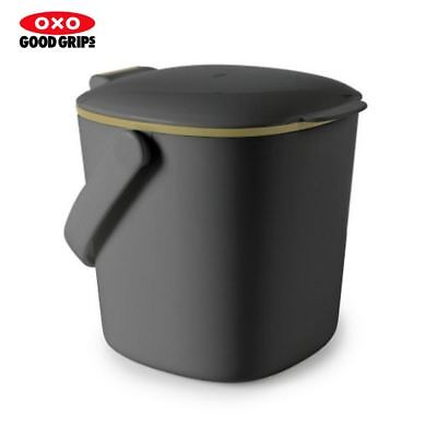 OXO Good Grips Compost Bin in Charcoal Countertop Kitchen Bin Grey