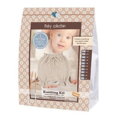 Go Handmade Knitting Crochet Kit Baby Bloomers - Off White