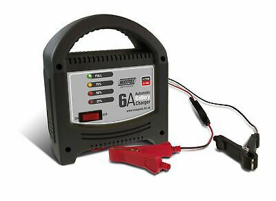 Maypole MP7106 6A 12V Automatic LED Battery Charger Car Vehicle Up To 1.8L
