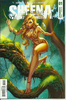 Sheena Queen Of The  Jungle #1 Nm+ 9.6/9.8! J Scott Campbell Cover - Cgc It!