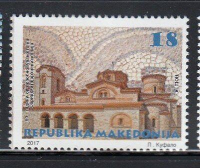 MACEDONIA Archdiocese of Ochrid MNH stamp