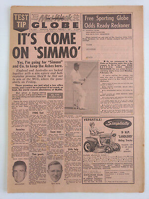 1966 02 09 'it'S Come On Simmo' The Sporting Globe Newspaper