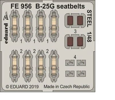 EDUARD 8801 Perforated Steel Plates Display Base for 1:48 Scale Kits 23,5x16,5cm