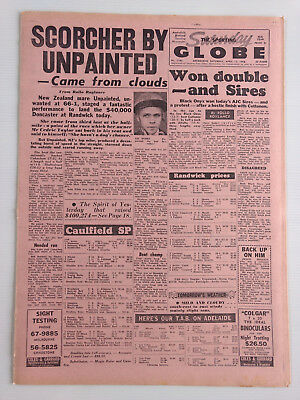 1968 04 13 'scorcher By Unpainted' The Sporting Globe Newspaper