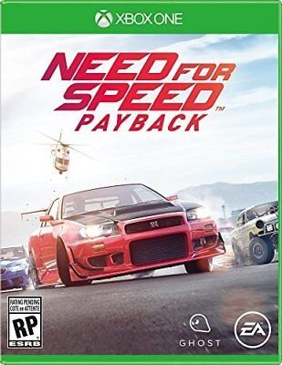 Need for Speed Payback [Microsoft Xbox One Racing Simulation Customize Cars] NEW