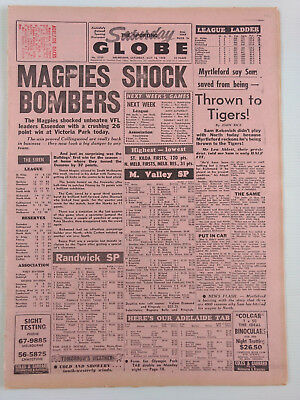 1968 05 18 'magpies Shock Bombers' The Sporting Globe Newspaper