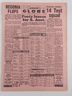 1968 06 01 'footy Lesson For S. Aust.' The Sporting Globe Newspaper