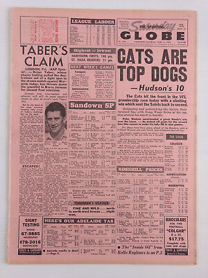 1968 06 15 'cats Are Top Dogs' The Sporting Globe Newspaper