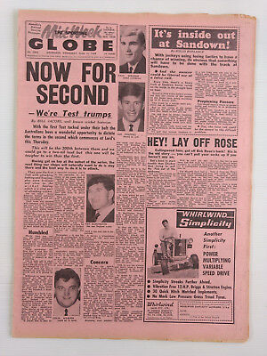 1968 06 19 'now For Second' The Sporting Globe Newspaper