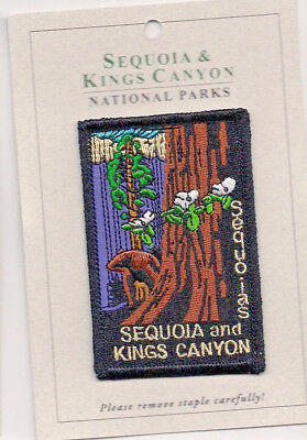 Sequoia and Kings Canyon National Parks Souvenir Patch Sequoias