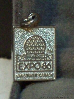 1986 Exposition World Fair Charm Expo 86 Vancouver Canada Vintage Geodesic Dome