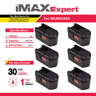 2 x NEW 18V BATTERY for MILWAUKEE 48-11-2230 48-11-2200 48-11-2232, 8940158631