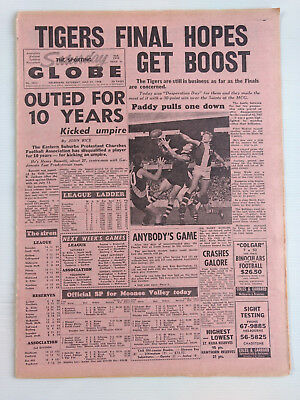 1968 07 27 'tigers Finals Hopes Get Boost' The Sporting Globe Newspaper