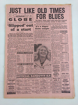 1968 08 10 'just Like Old Times For Blues' The Sporting Globe Newspaper
