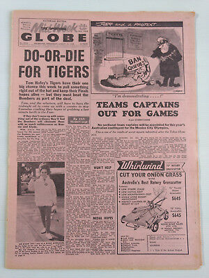 1968 08 14 'do Or Die For Tigers' The Sporting Globe Newspaper