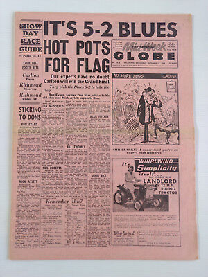 1968 09 25 'it'S 5-2 Blues, Hot Pots For Flag' The Sporting Globe Newspaper [I]
