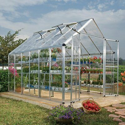 Palram Silver Snap and Grow 8ft. x 12ft. Greenhouse