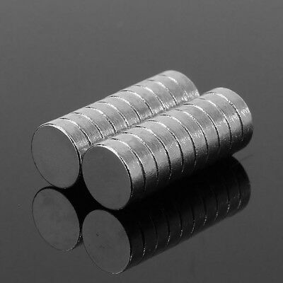 20Pcs Magnet Rare Earth N52 Neodymium Round DIY Magnets Strong for Crafts Home