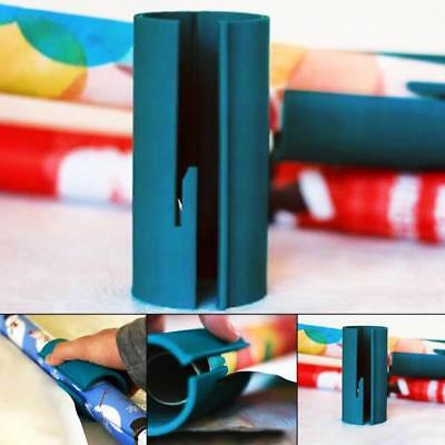 Sliding Wrapping Paper Cutter Xmas Gift Second Wrap Paper Roll Cuting Tools AU