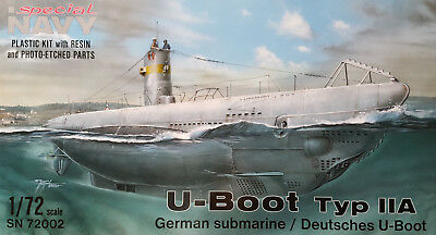SPECIAL NAVY MPM SN72002 U-Boot Type IIA in 1:72