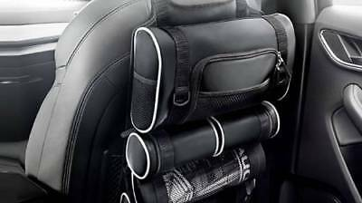New Genuine Audi Accessory Front Seat Backrest Multi Compartment Storage Bag