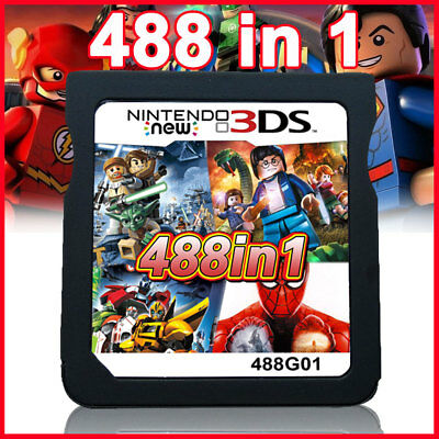 488 in 1 Game Cartridge for NDS NDSL 2DS 3DS NDSI  Video Game Card