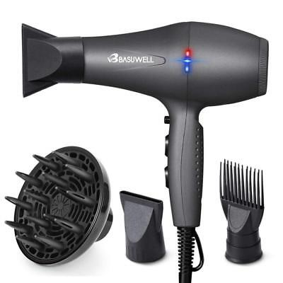 Professional Salon Hair Dryer Ionic Far Infrared 2 Speed 3 Heat Setting Blow Dry