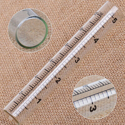 5 inch Capacity Glass Rain Gauge Tube Replacement Home Outdoor Garden Yard