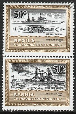 HMS DUKE OF YORK King George V Class Battleship Royal Navy WWII Warship Stamps