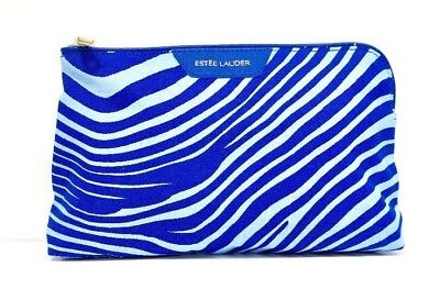 Estee Lauder Blue Limited Edition Makeup/Cosmetics/Travel Bag - New