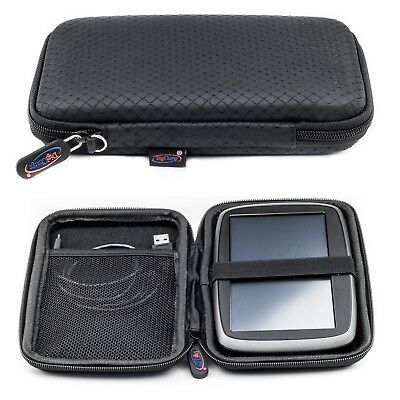 Slim Hard Carry Case For TomTom Go Professional Trucker 6000 With Hand Strap
