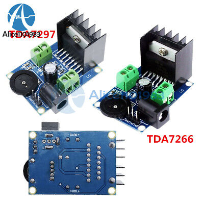 TDA7297 TDA7266 DC 3/6V to 18V Power Amplifier Module Double Channel 5-15W