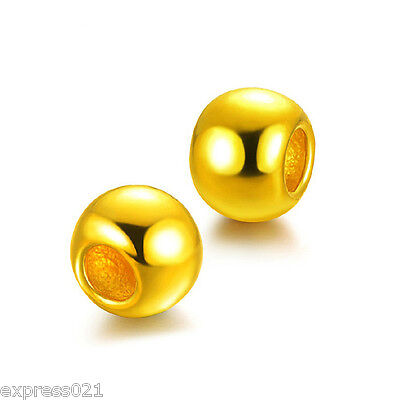 1PCS New Arrival Pure 999 24K Yellow Gold Pendant/ Lucky Loose Bead in 0.1g