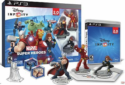 Disney INFINITY: Marvel Super Heroes Video Game PS3 Playstation 3 USED!